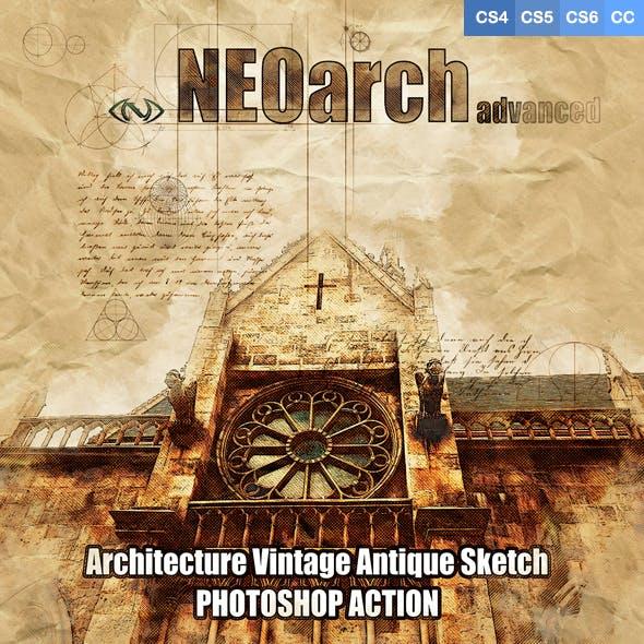 NEOarch Architecture Vintage Antique PS Action Advanced