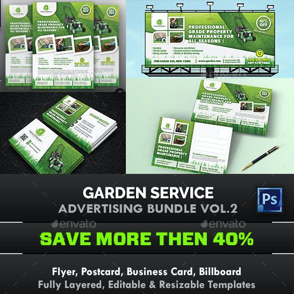 Garden Landscape Advertising Bundle Vol.2