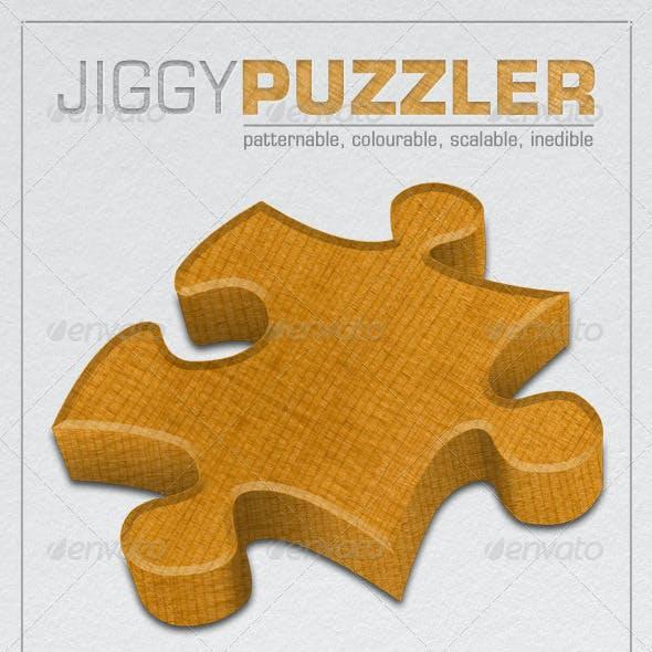 PSD Jigsaw Puzzle Piece