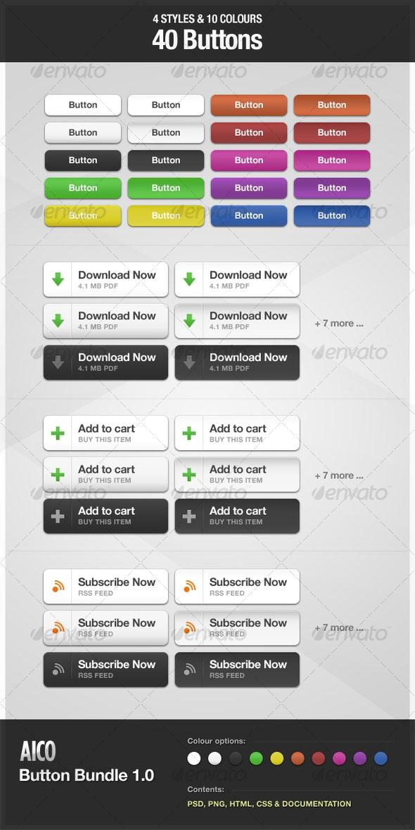 AICO Button Bundle 1.0 - Buttons Web Elements