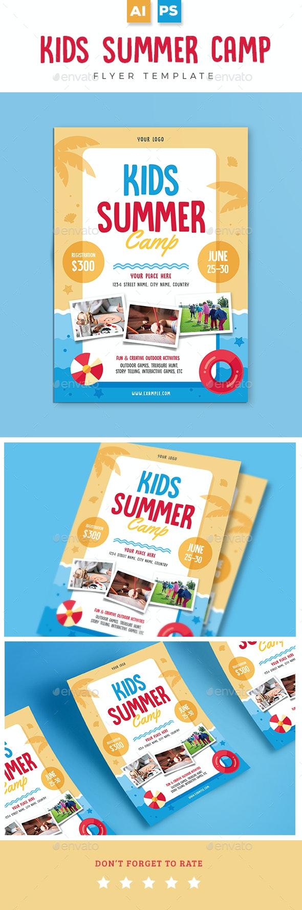 Kids Summer Camp - Holidays Events