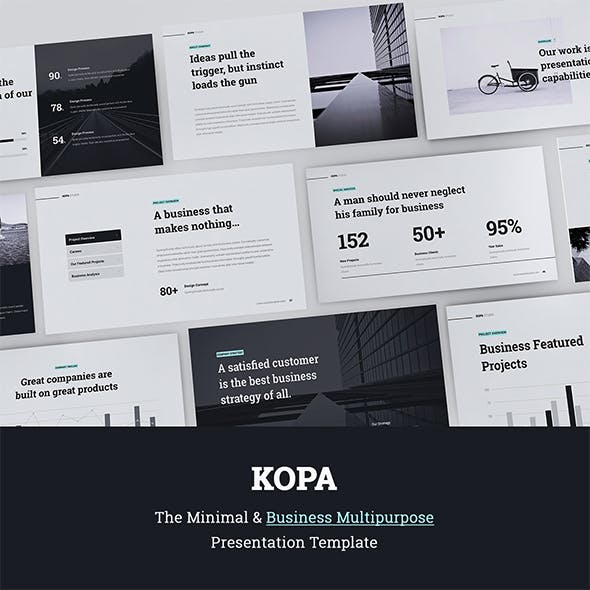 Kopa Business & Multipurpose Template (Keynote)
