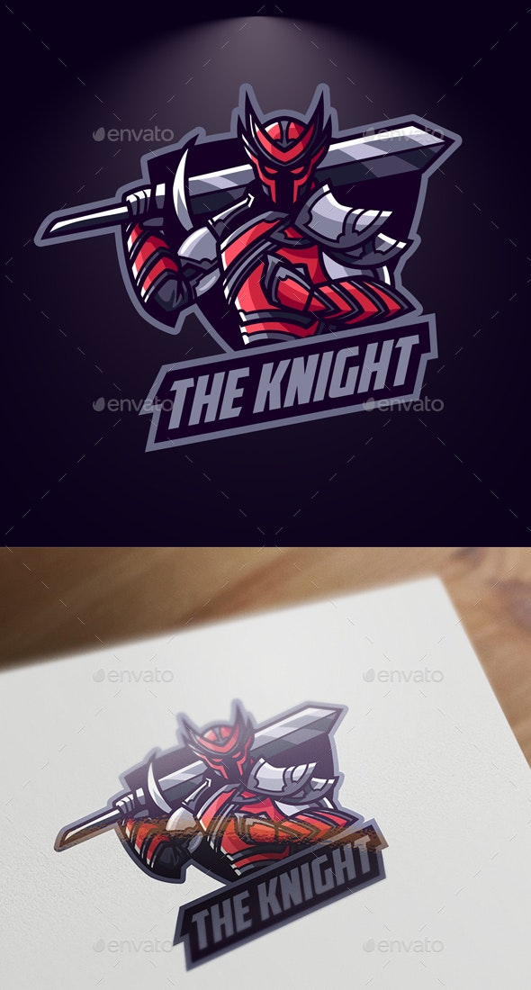 Esports Knight Logo - Sports Logo Templates