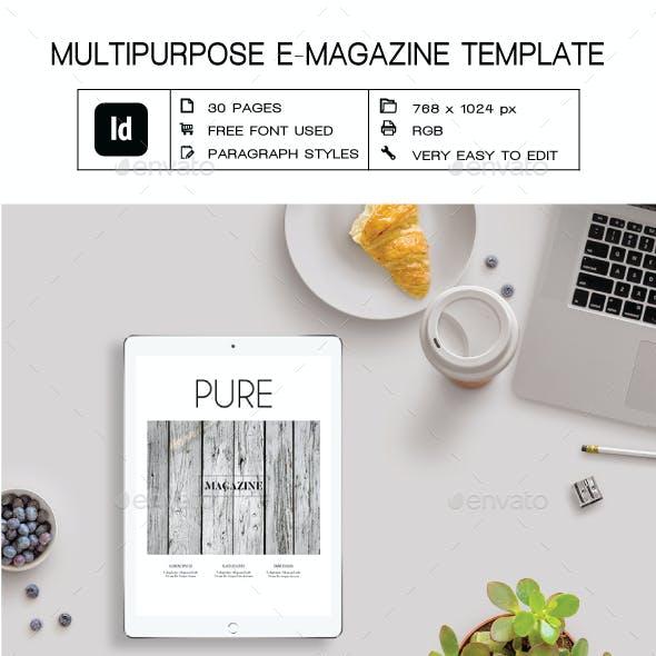 Multipurpose E-Magazine II