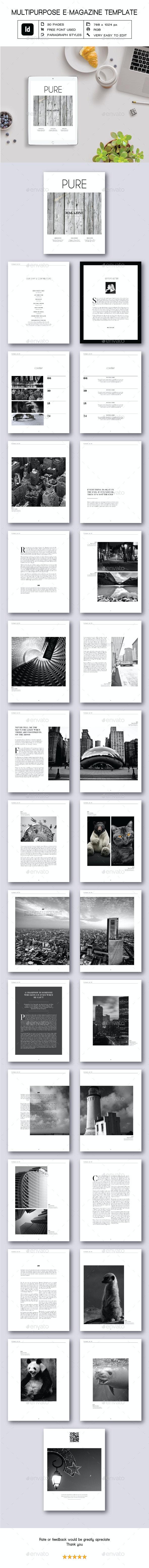 Multipurpose E-Magazine II - Digital Magazines ePublishing
