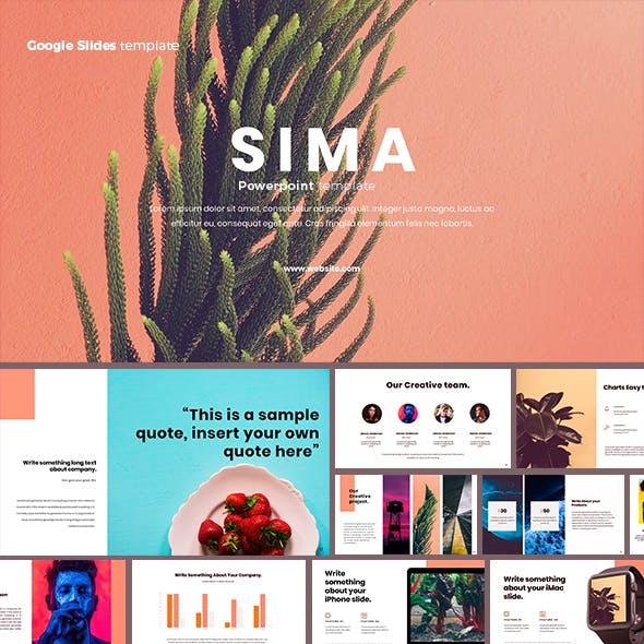 Sima Google Slides