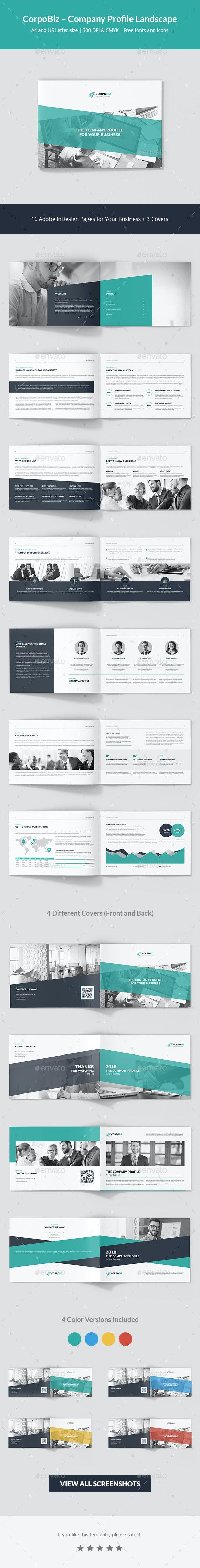CorpoBiz – Business and Corporate Company Profile Landscape - Corporate Brochures