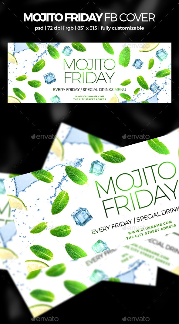 Mojito Party Facebook Cover - Facebook Timeline Covers Social Media
