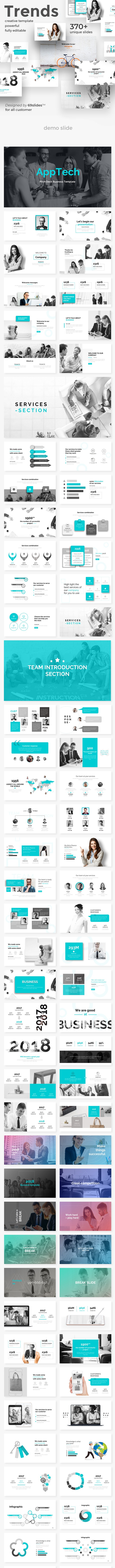Business Trends Bundle 3 in 1 Powerpoint Template - Creative PowerPoint Templates