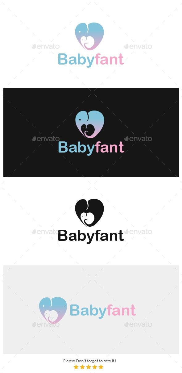 Babyfant Infants Logo - Animals Logo Templates