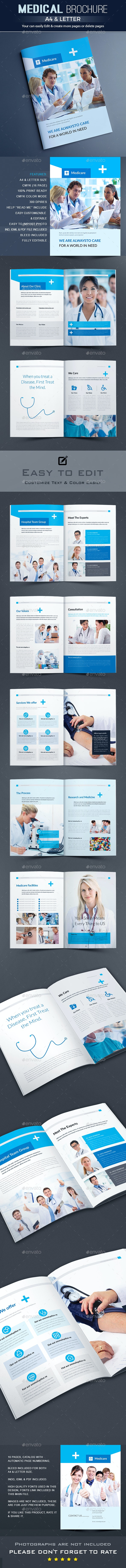 Medical Brochure - Brochures Print Templates