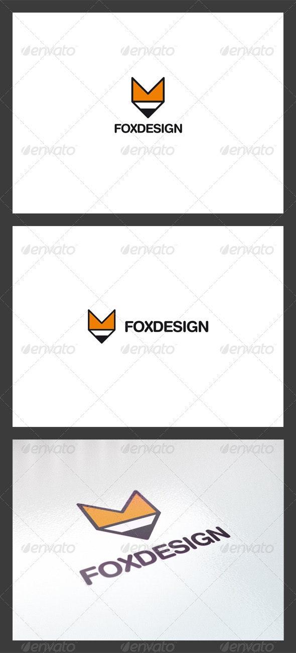 Fox Design Logo Template - Symbols Logo Templates