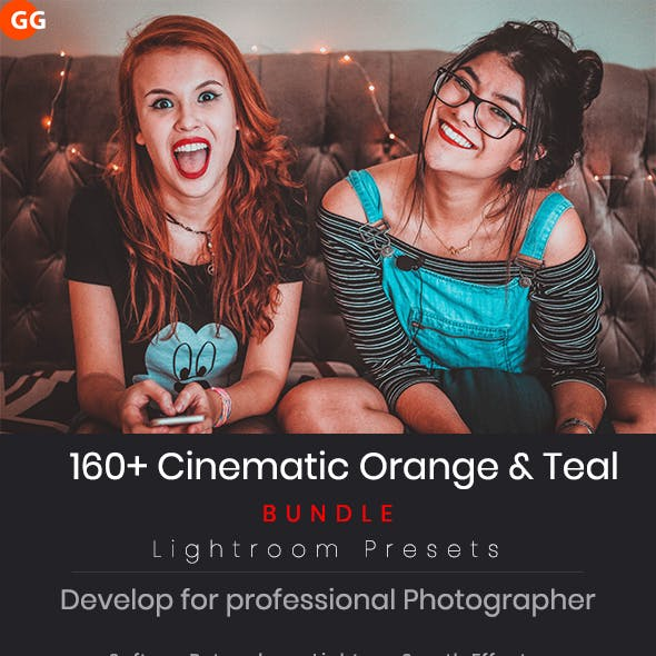160 +Cinematic Orange & Teal Look Lightroom Preset
