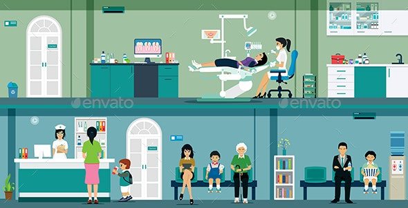 Dental Clinic - Health/Medicine Conceptual