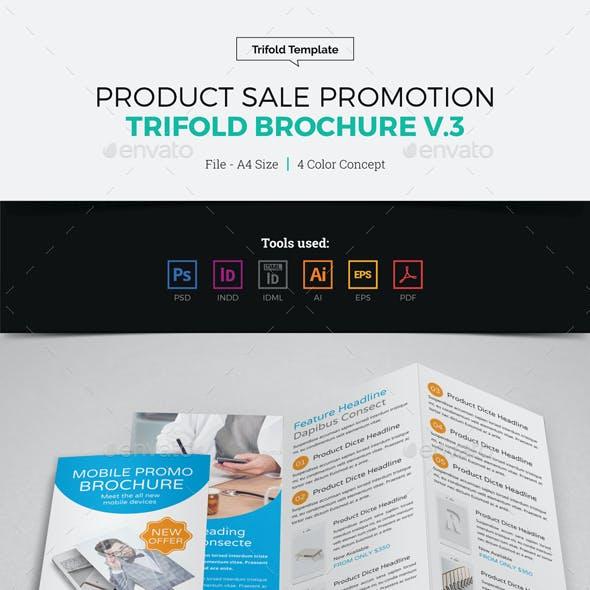 Product Sale Promotion Trifold Brochure v3