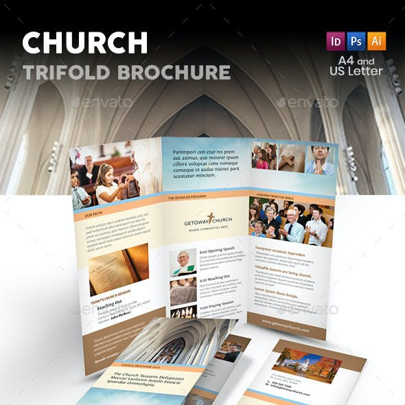 Church Trifold Brochure