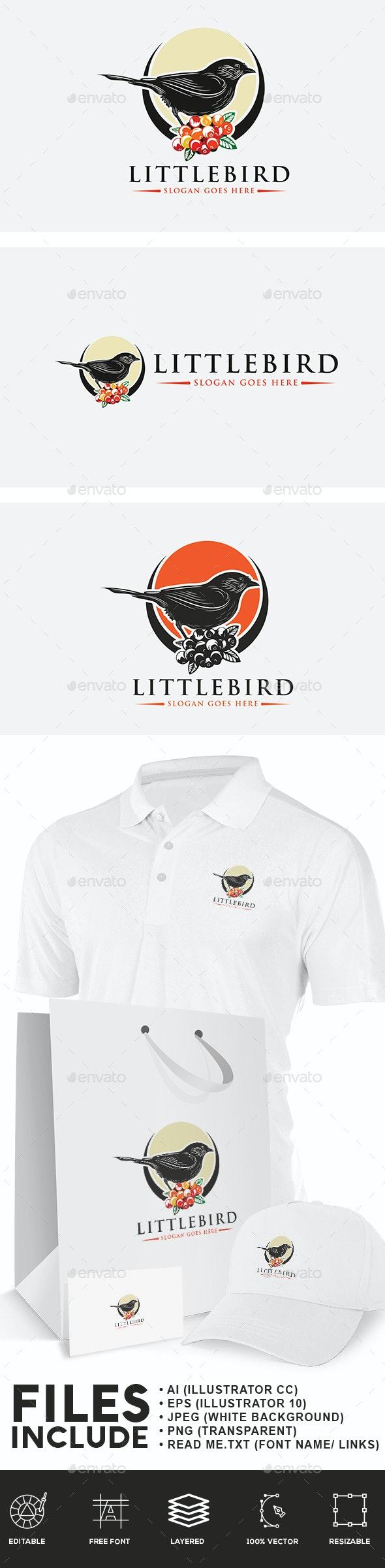 Little Bird Logo - Animals Logo Templates
