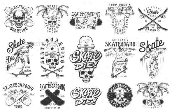 Set of Emblems - Miscellaneous Vectors