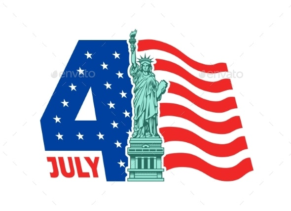 Happy 4th of July - Independence Day - Miscellaneous Seasons/Holidays