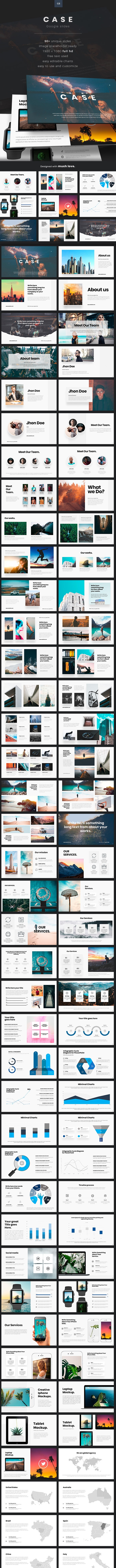 Case Google Slides - Google Slides Presentation Templates