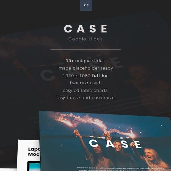 Case Google Slides