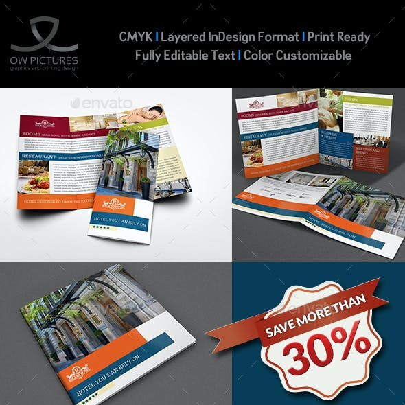 Hotel and Motel Brochure Bundle