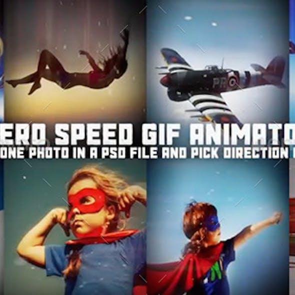 Hero Scene Animator for Photoshop
