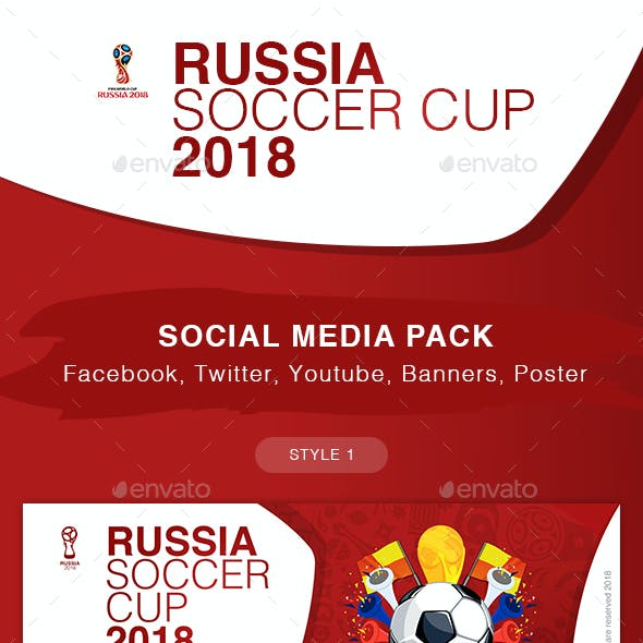 Russia Soccer Cup 2018 Kit