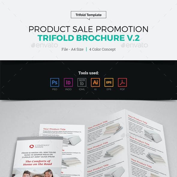 Product Sale Promotion Trifold Brochure v2