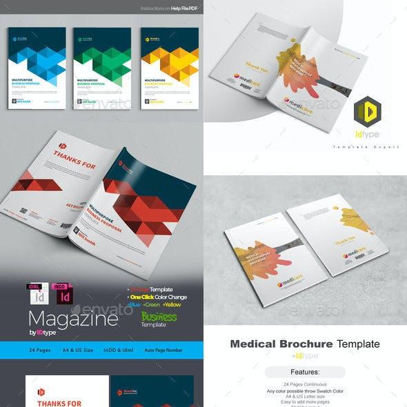Brochure Bundle Magazine