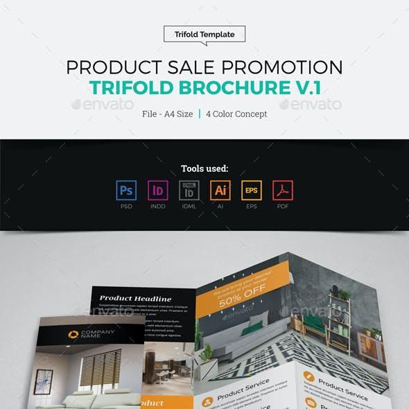 Product Sale Promotion Trifold Brochure v1