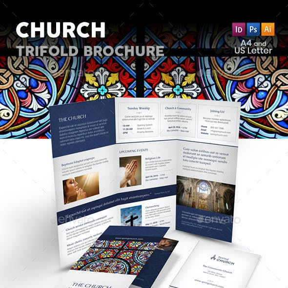 Church Trifold Brochure 3