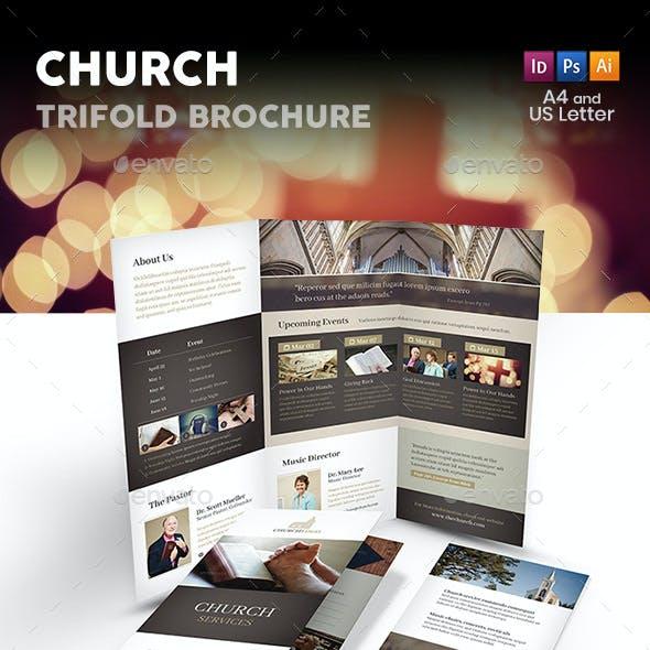 Church Trifold Brochure 4
