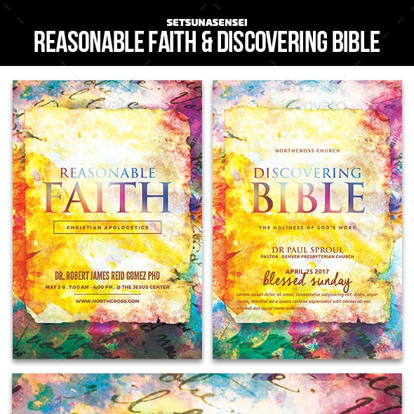 Reasonable Faith & Discovering Bible Church Flyer