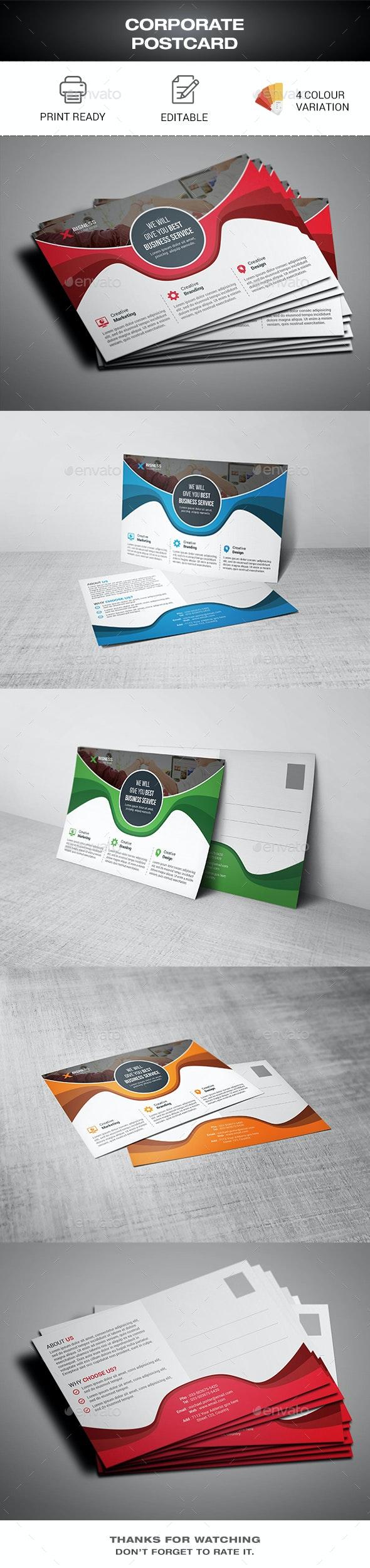 Postcard - Cards & Invites Print Templates