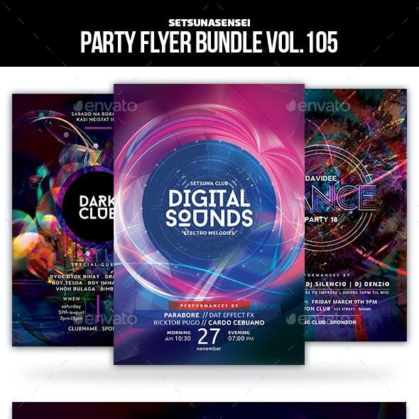 Party Flyer Bundle Vol.105