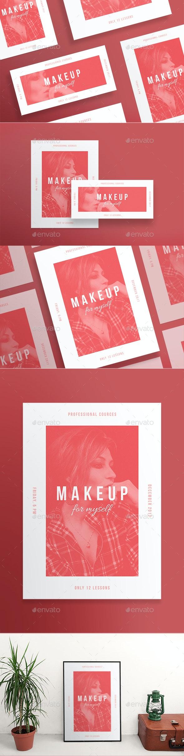 Makeup Courses Flyers - Miscellaneous Events