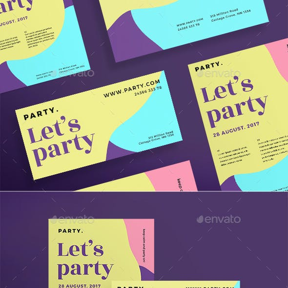 Let's Party Flyers