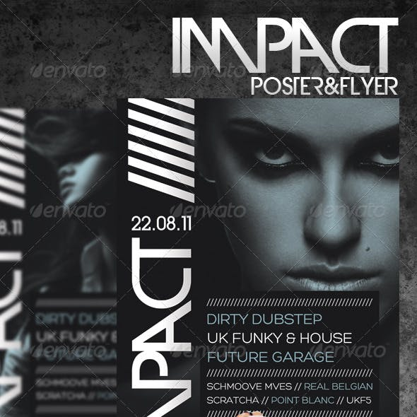 Impact A3 Poster & A5 Flyer