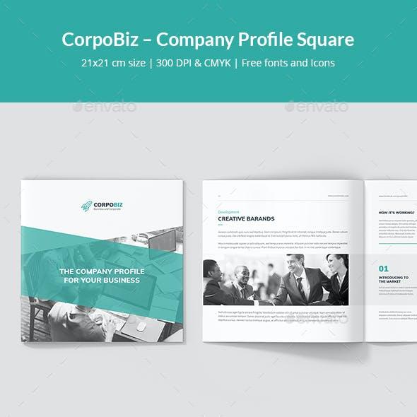 CorpoBiz – Business and Corporate Company Profile Square