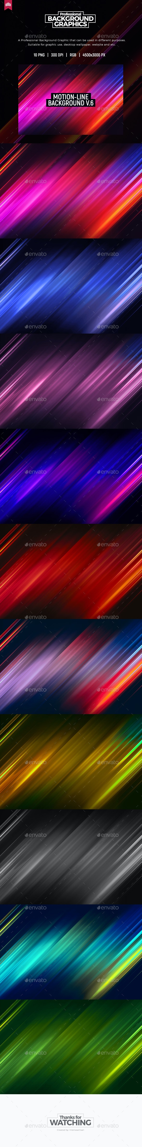 Motion Line - Background V.6 - Abstract Backgrounds