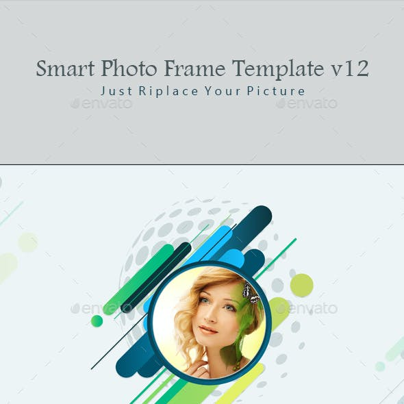Smart Photo Frame Template v12