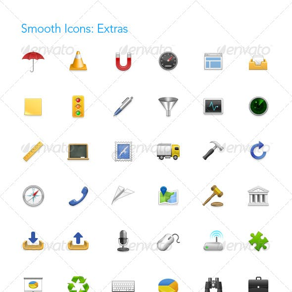 Smooth Icons: Extras