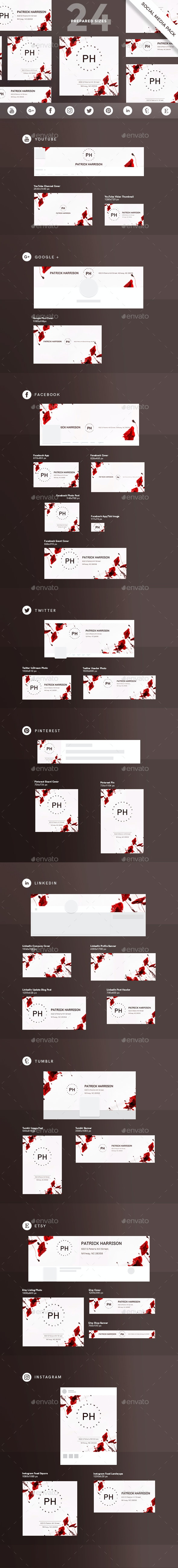 Womenswear Designer Social Media Pack - Miscellaneous Social Media