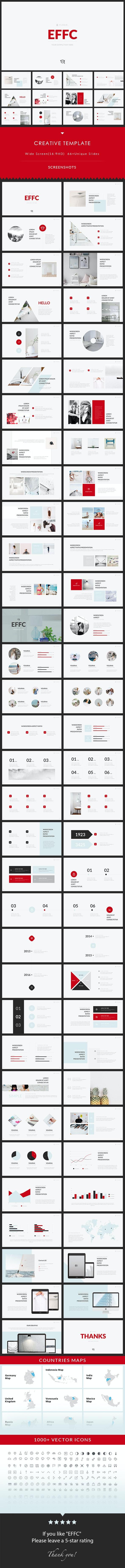 EFFC - Keynote Presentation Template - Creative Keynote Templates