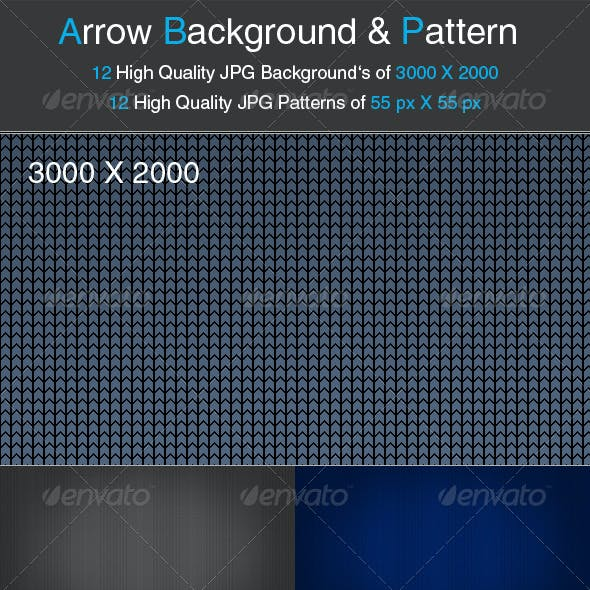Arrow Background and Pattern