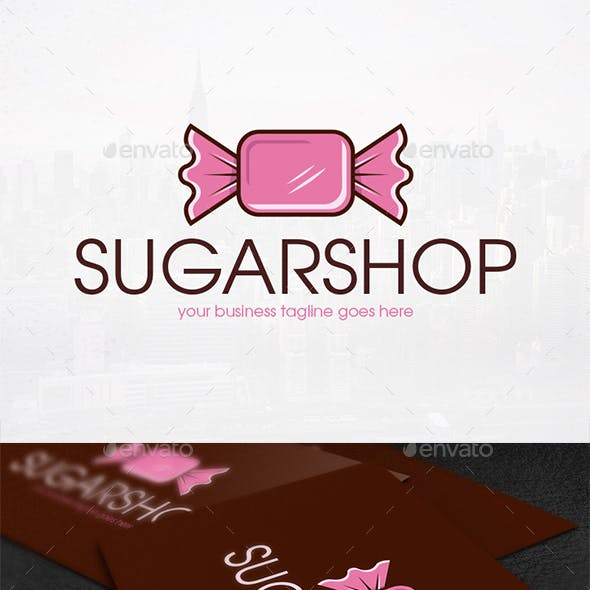 Sweet Candy Logo Template