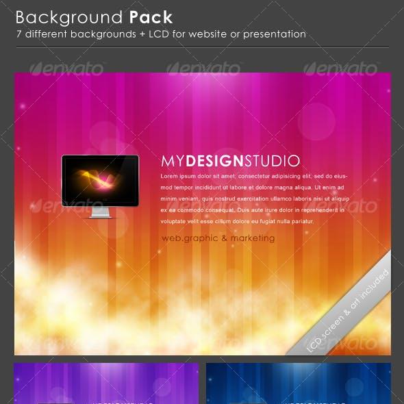 Website Backgrounds Pack
