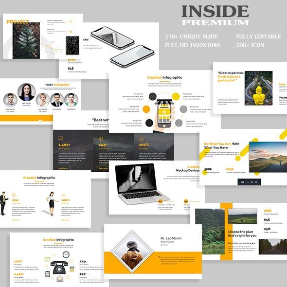 Inside Premium Google Slide Template