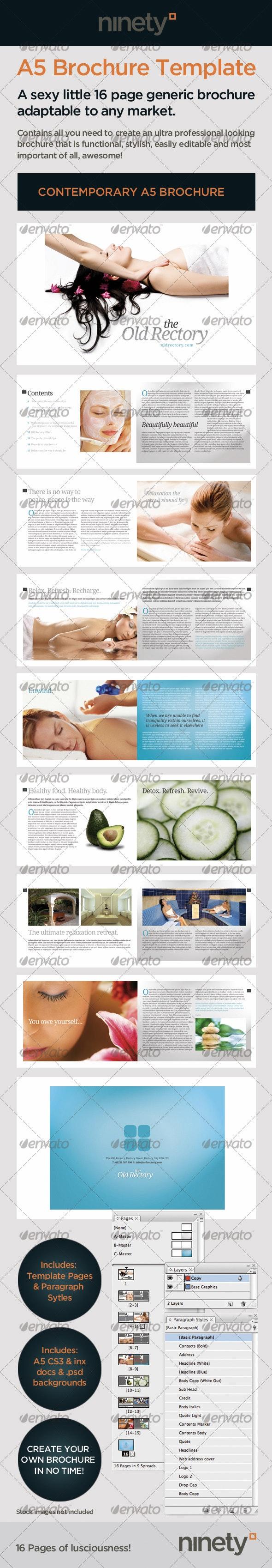Luscious Generic A5 Brochure - Corporate Brochures